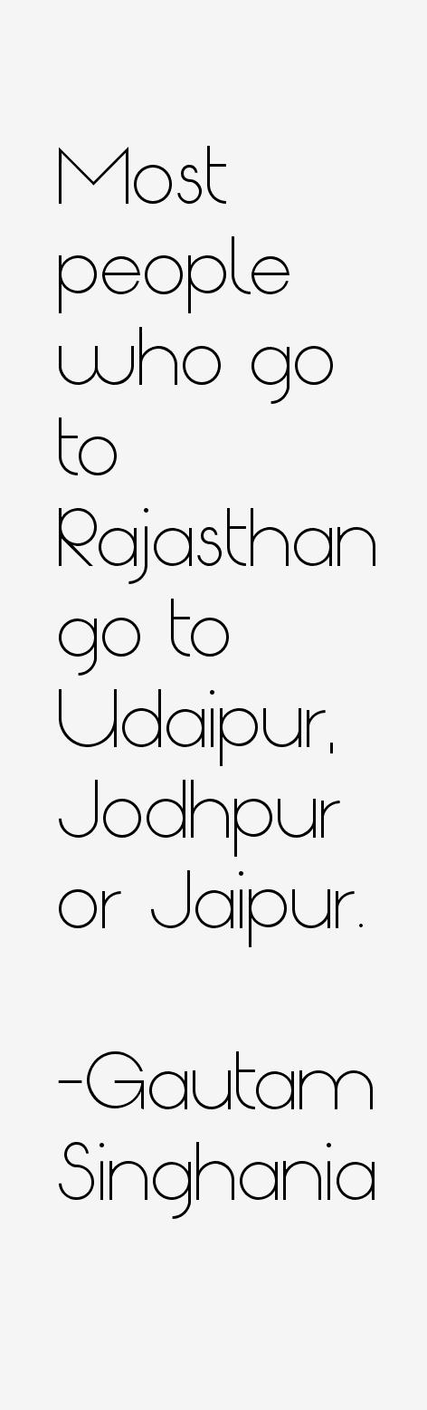 Gautam Singhania Quotes