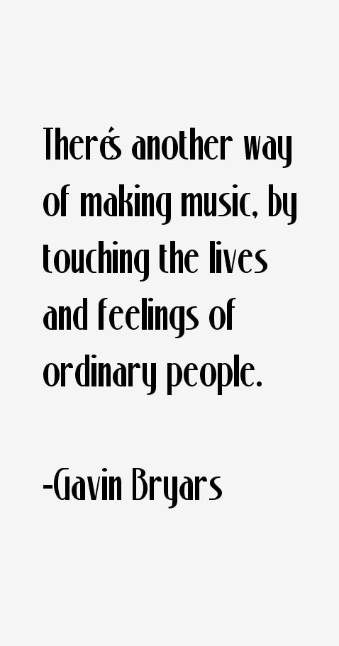Gavin Bryars Quotes