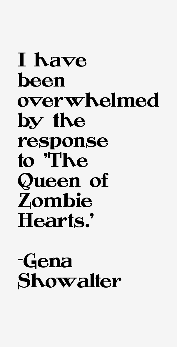 Gena Showalter Quotes