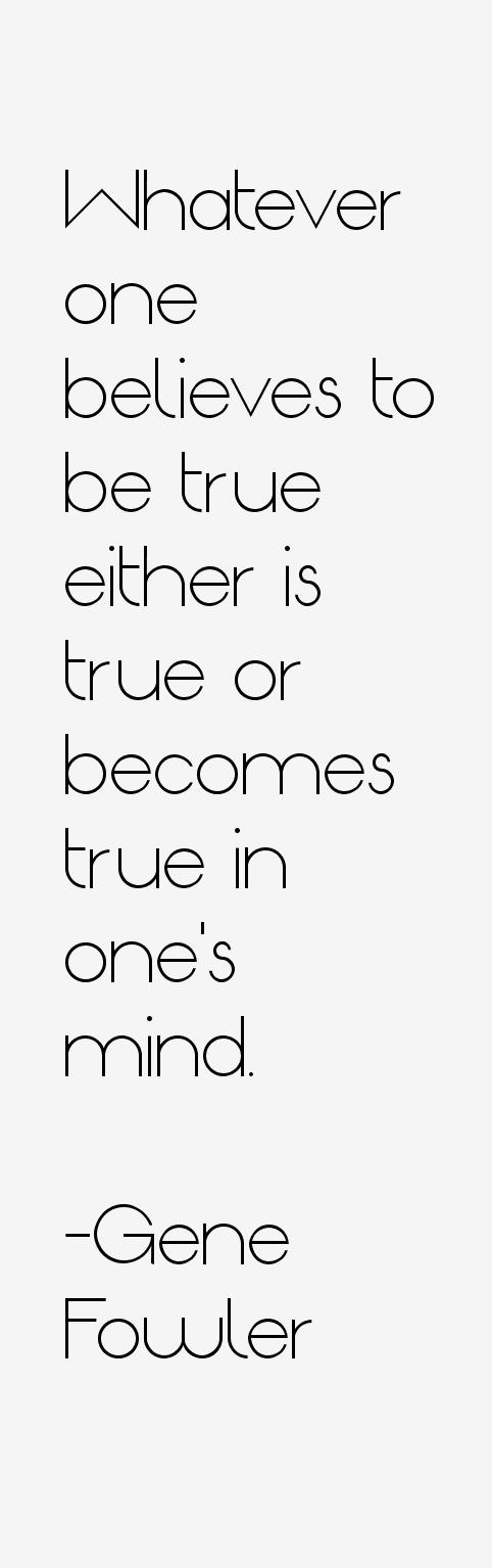 Gene Fowler Quotes