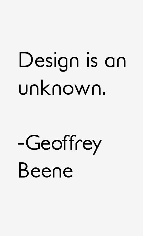Geoffrey Beene Quotes