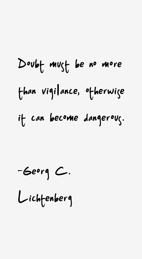 Georg C. Lichtenberg Quotes