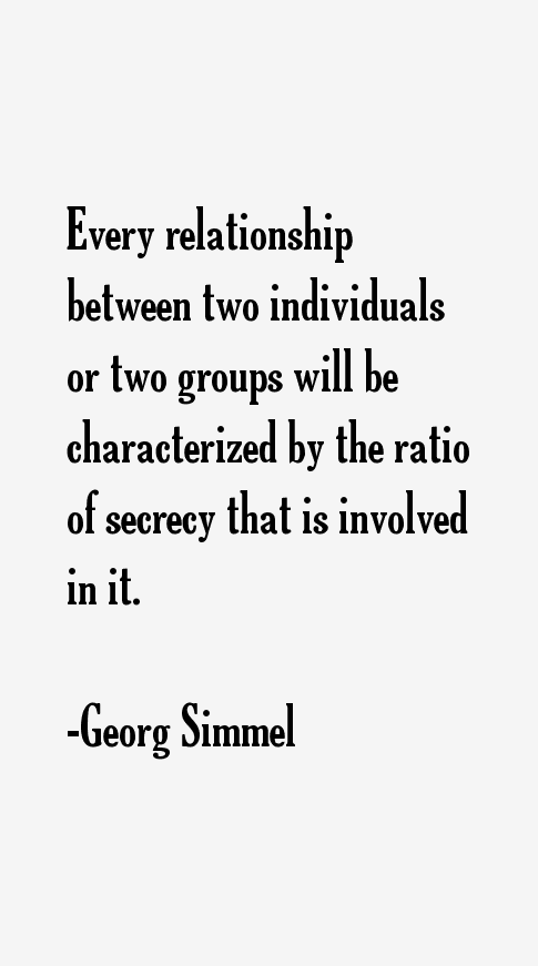 Georg Simmel Quotes