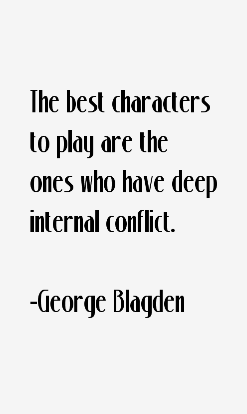 George Blagden Quotes