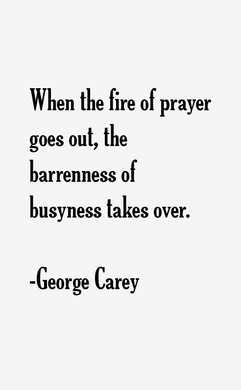 George Carey Quotes
