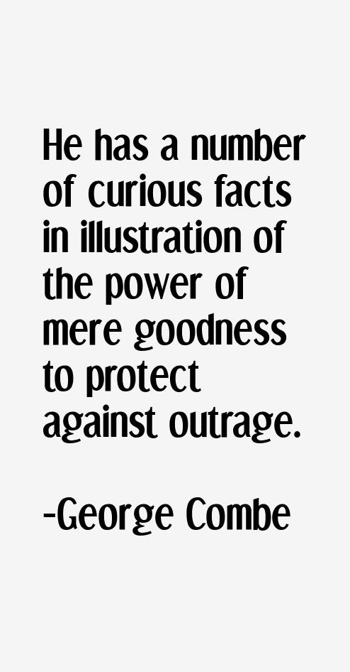 George Combe Quotes