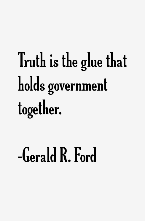 Gerald Ford Quotes Stunning Gerald Rford Quotes & Sayings