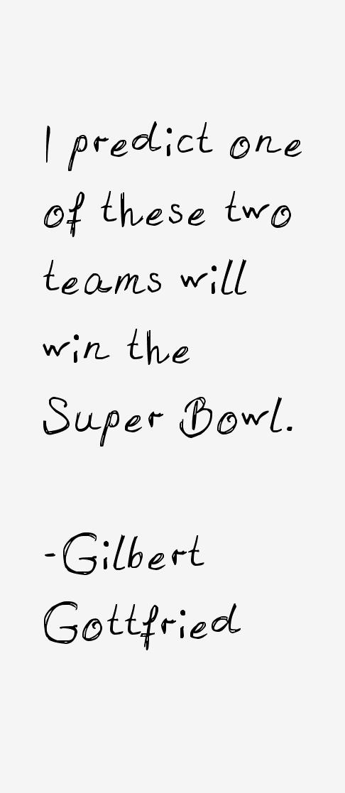 Gilbert Gottfried Quotes