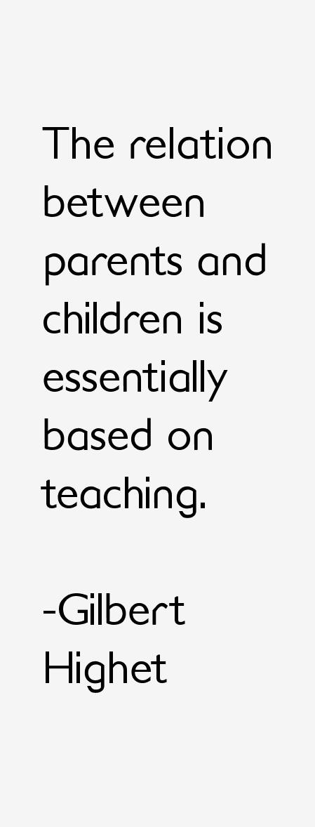 Relation between parents and children essay