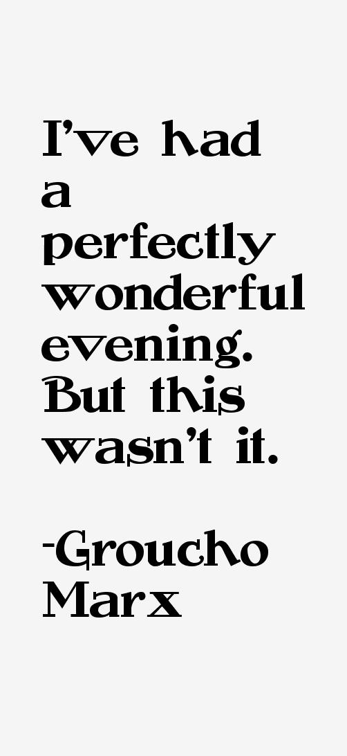 Groucho Marx Quotes