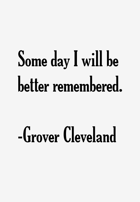 Grover Cleveland Quotes Sayings Page 3