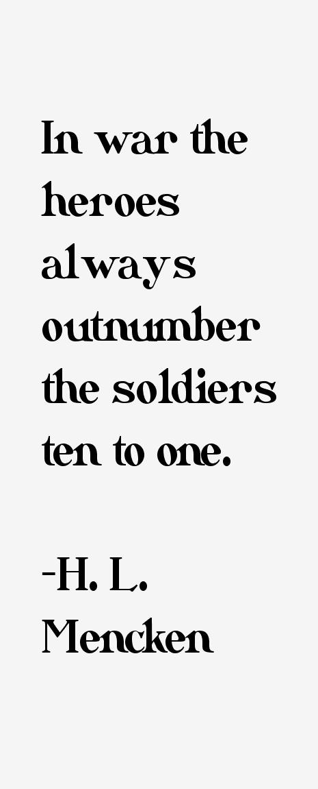H. L. Mencken Quotes