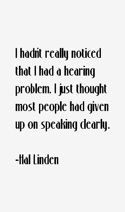 Hal Linden Quotes
