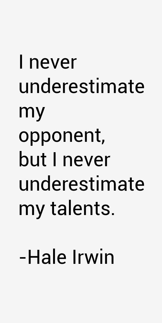 Hale Irwin Quotes