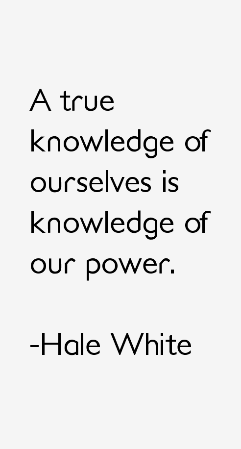 Hale White Quotes