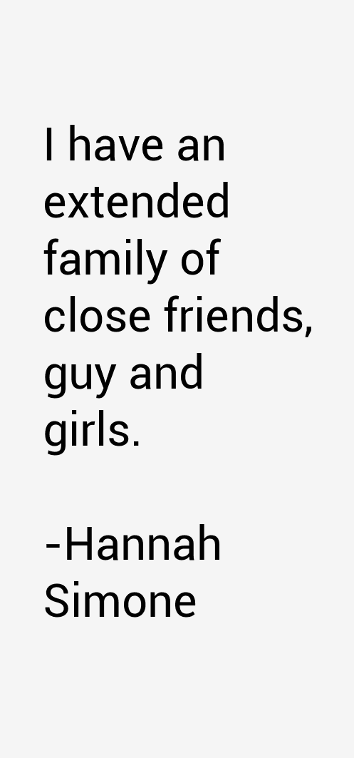 Hannah Simone Quotes