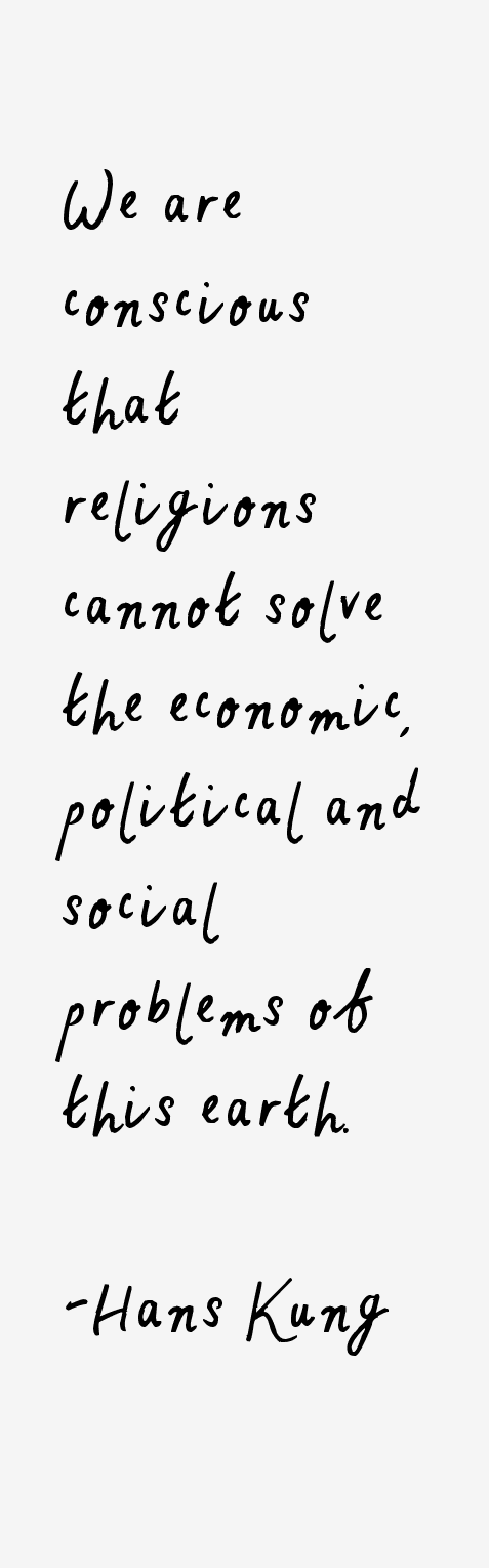 Hans Kung Quotes