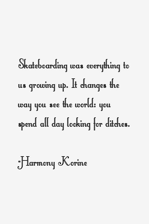 Harmony Korine Quotes