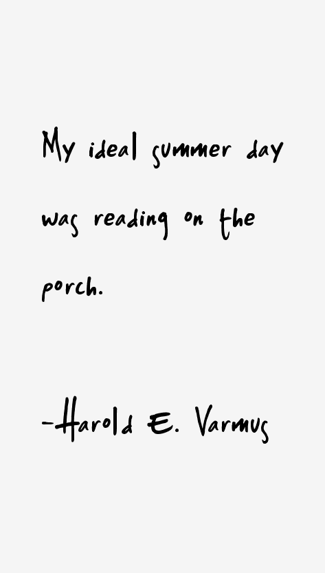 Harold E. Varmus Quotes