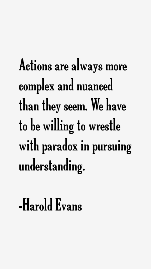 Harold Evans Quotes