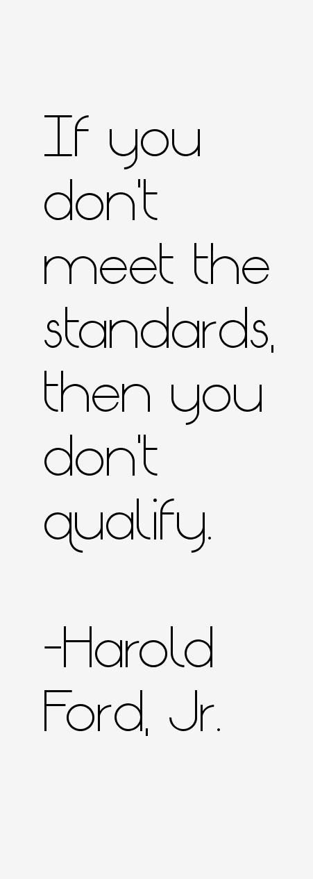 Harold Ford, Jr. Quotes