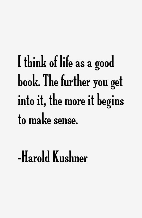 Harold Kushner Quotes