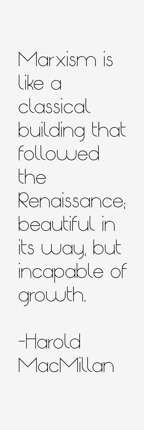 Harold MacMillan Quotes
