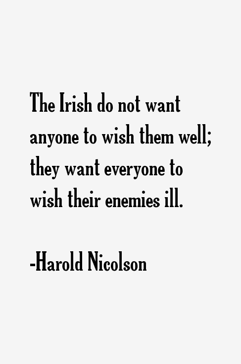 Harold Nicolson Quotes