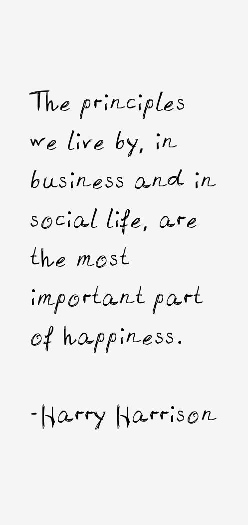 Harry Harrison Quotes