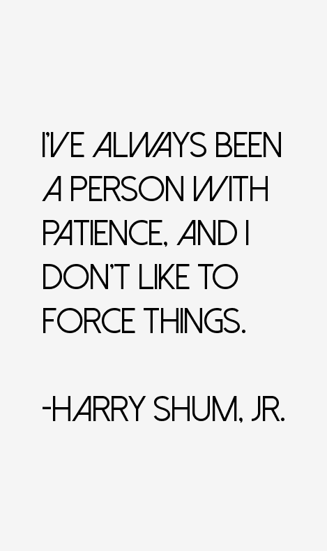 Harry Shum, Jr. Quotes