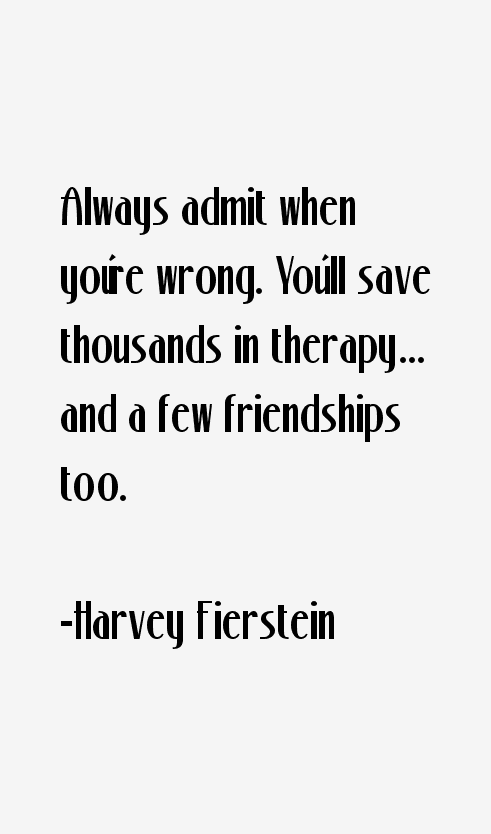 Harvey Fierstein Quotes