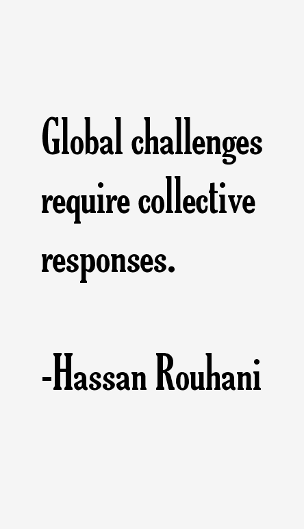Hassan Rouhani Quotes