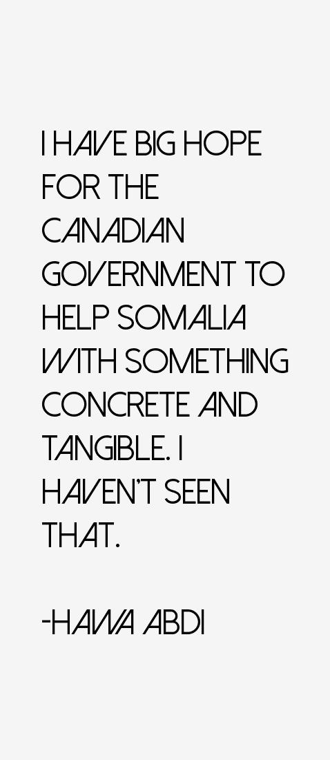 Hawa Abdi Quotes