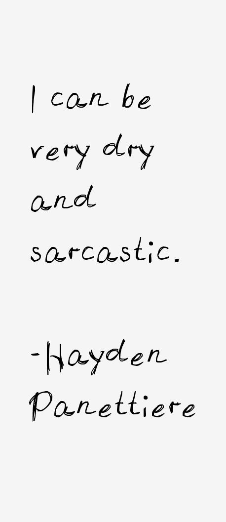 Hayden Panettiere Quotes