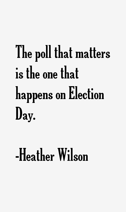 Heather Wilson Quotes