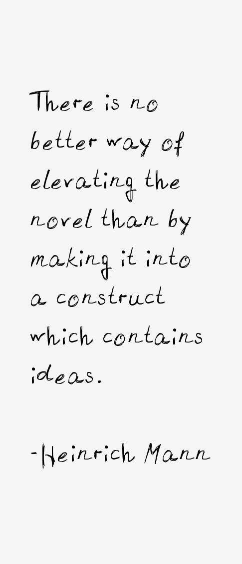 Heinrich Mann Quotes