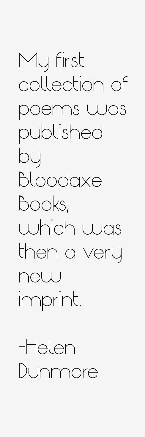 Helen Dunmore Quotes