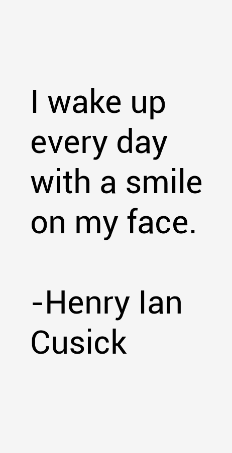 Henry Ian Cusick Quotes