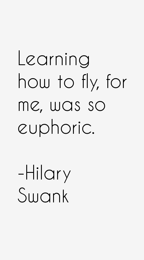 Hilary Swank Quotes