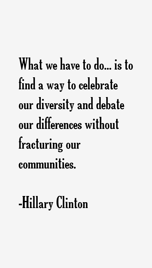 essay celebrating diversity without fracturing communities