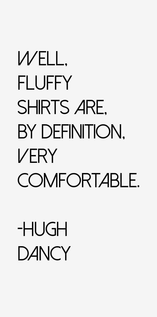 Hugh Dancy Quotes