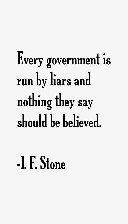 I. F. Stone Quotes