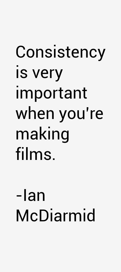 Ian McDiarmid Quotes