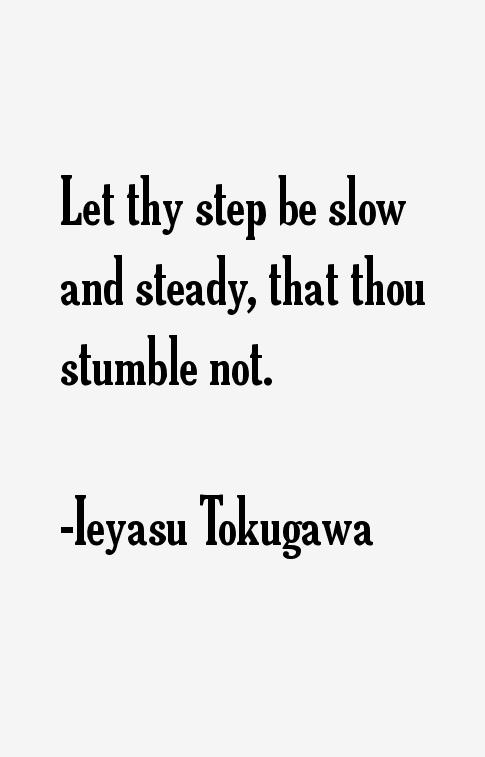 Ieyasu Tokugawa Quotes