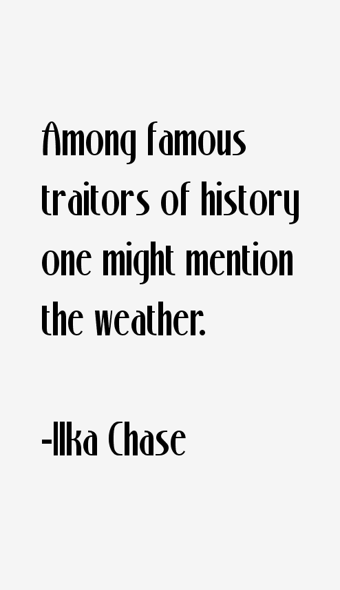 Ilka Chase Quotes