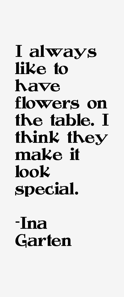 Ina Garten Quotes