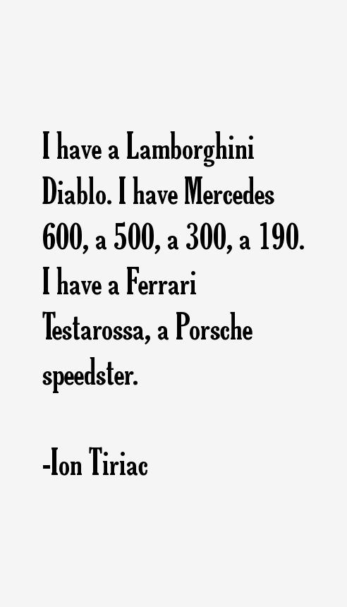 Ion Tiriac Quotes