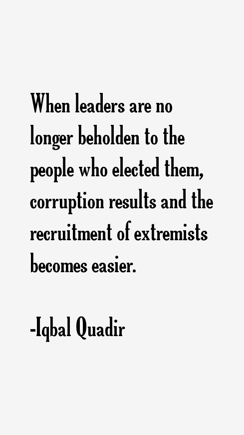 Iqbal Quadir Quotes