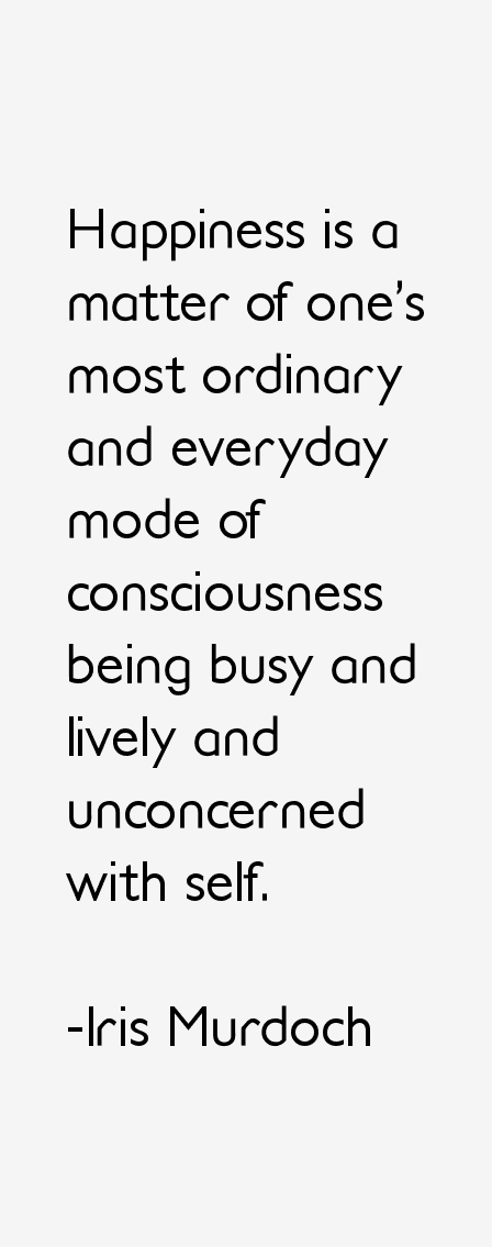 Iris Murdoch Quotes