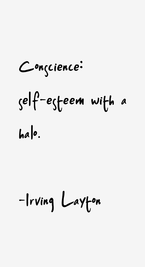 Irving Layton Quotes